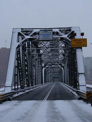 "Hawthorne Bridge, Portland, Oregon ""Where Is Everybody?"""