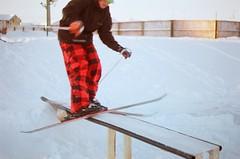 Edit (AlexPoulin) Tags: friends sun ski colour 35mm fun photo nice freestyle skiing shot box gib awesome picture pic setup jibbing jib ricoh victoriaville twintip freeski gibbing