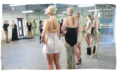"Fashion Show - Curtin University ""Line-Up"""