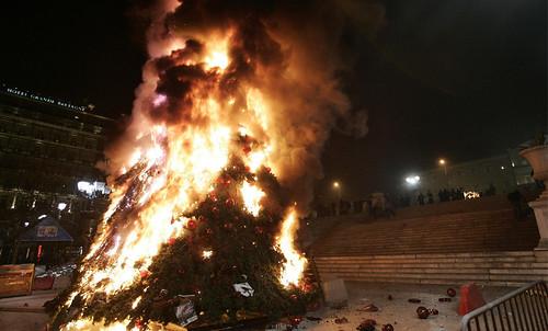 hardcore Grčka pobuna demonstracije anarhija neredi policija atena