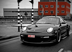 RUF RTURBO. (Denniske) Tags: christmas xmas cars coffee digital canon eos moving movement hp december 21 action cab den 911 optical sigma convertible os special cc turbo r porsche and 12 pk dennis nm stadion haag 700 tuning ado panning 2008 cabrio 18200 colouring 900 cv 08 selective ruf cabriolet 997 bwcolor noten turbor carspotting stabilizer 18200mm 3563 f3563 40d carscoffee denniske dennisnoten kersteditie