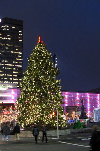 Fountain Square at Christmas, 2008