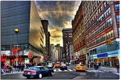 Union Square NY (DP|Photography) Tags: newyorkcity manhattan broadway streetphotography portal unionsquare hdr photomatix supershot debashispradhan dpphotography dp|photography