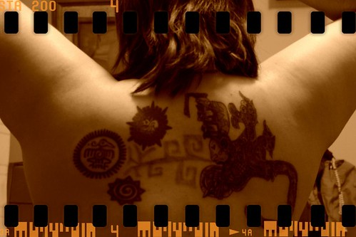 Mayan and aztec tattoos /