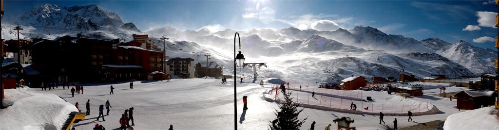Val Thorens Ski Resort Three Valleys