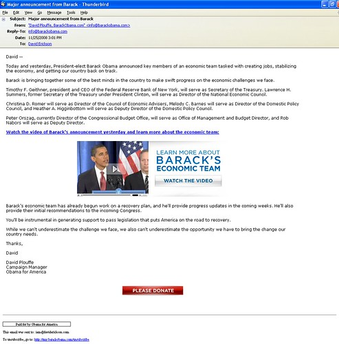 3155764043 a133be05a1 Barack Obamas Online Fundraising Machine