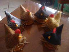 coleo de galinhas (Juntando Retalhos by Raquel Faleiro) Tags: vidro galinha