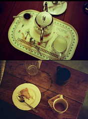 (Andy CF) Tags: christmas house colour film cake tea 400iso olympusom2n