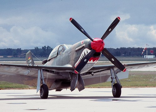 Warbird picture - One of three F-51Ds rebuilt as Cavalier Mustangs for the Bolivian AF in 1967