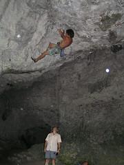 P7241949 (Jan Chvla) Tags: 2006 climbing polsko jaskynamamutova