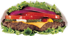 The Low Carb Thickburger at Hardee's