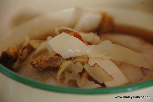 double boil herbal chicken