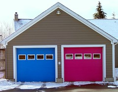The House that Flickr Built (Henry M. Diaz) Tags: pink blue house girl flickr garage homeowner flickrlogo flickrmember flickrlife flickrhome flickrfanatic flickrfriendly flickrhouse flickrdoors thehouseflickrbuilt flickrgarage flickrhousehold loyalflickrmember boy1904