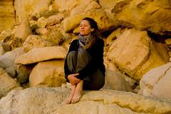 Raz Al Jinz (jjay69) Tags: oman turtlebeach turtle sand beach peaceful dawn middleeast gulf gcc gulfstate sultanateofoman rasaljinz earlymorning morning sittingonarock barefoot woman muslimcountry muslim arabi arabic islam islamic