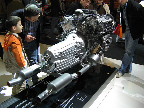 Mercedes engine by corleone713, on Flickr