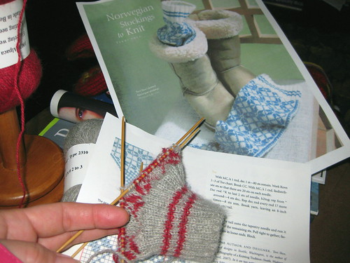 January knitting