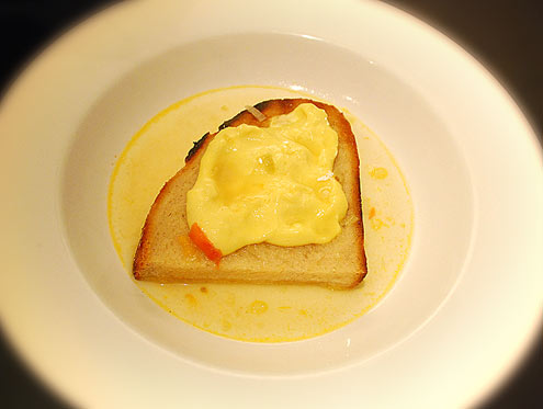 Fisherman's Soup with Aioli Toast