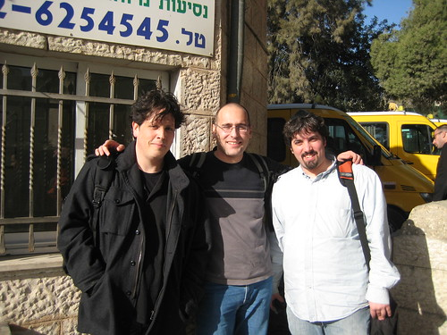 Gilad, Branko & Barry in Jerusalem