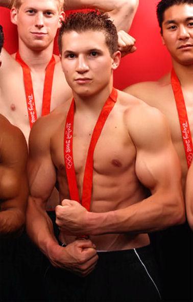 Jonathan Horton shirtless