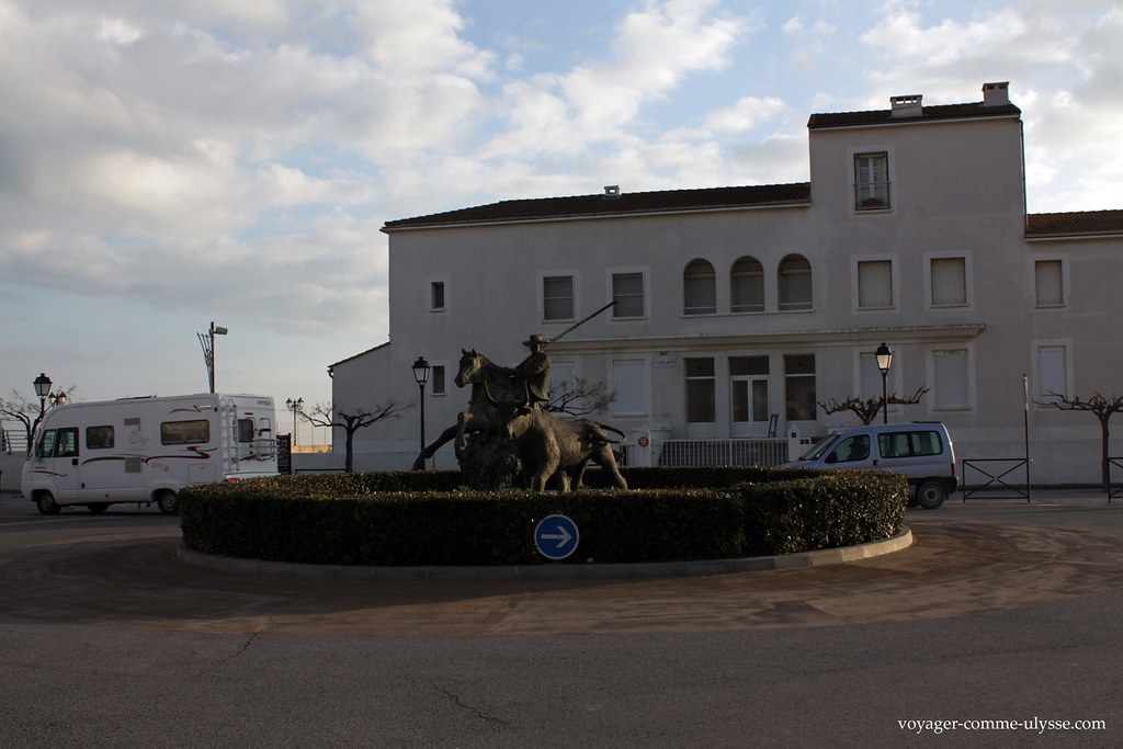 Statue dun Gardian