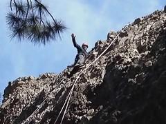 44 Curso de escalada en roca Isla de Gran Canaria (Rafael Gomez - http://micamara.es) Tags: naturaleza mountains nature de islands video rocks canarias gran canary isla islas videos canaria rocas montaas courses cursos escaladas climbings