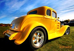 deuces wild 2.0 (AceOBase) Tags: park summer yellow photography classiccar smooth saturday hotrod skyward hdr carshow picnik coolcar showcar carart tonemapped worldcars hdraddicted hangingoutwiththefamily photoartbloggroup certifiedcarcrazy blinkagain