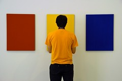 Primary (edwardhorsford) Tags: trip blue red holiday art yellow museum germany colours canvas dsseldorf primary nordrheinwestfalen k21 kunstsammlung 18200mmvrdx nnaise