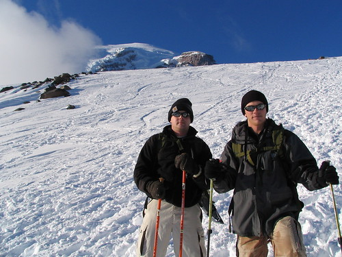 Joshua and Dusty, Mt. Rainier