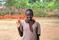 Class 8 (2009) Girl from Saint Anne Academy Kiminini (Anselm11) Tags: greet blackwoman africangirl saintanneacademy