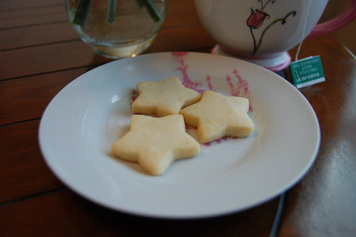 Vegan Shortbread Stars