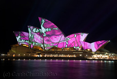 Creative Lighting Sydney (anthonyngo) Tags: lighting creative sydneyoperahouse luminosity