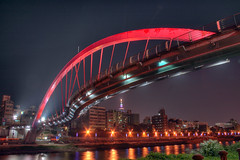 IMG_0018_24  HDR (vicjuan) Tags: bridge river geotagged taiwan taipei hdr   songshan   keelungriver  tonemapping  20090920 geo:lat=25052261 geo:lon=121576676 10