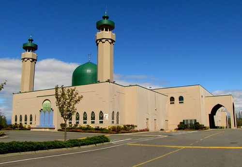Az-Zaharaa Islamic Centre Muslim Mosque on No. 5 Road Richmond BC