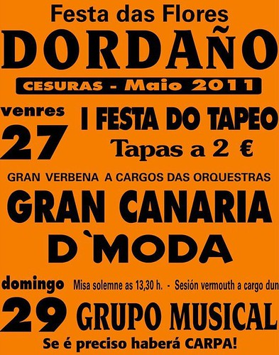Cesuras 2011 - Dordaño - cartel