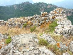 Sommet du Castellacciu : la tour ruinée