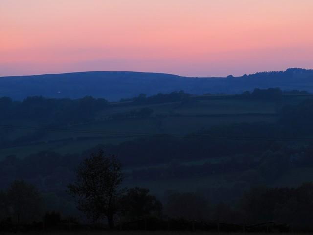 coucher de soleil llanddeussant