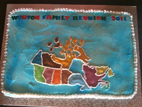 Worton Family Reunion 2011  Cake