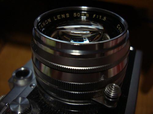 Canon50mmf1.5 LTM