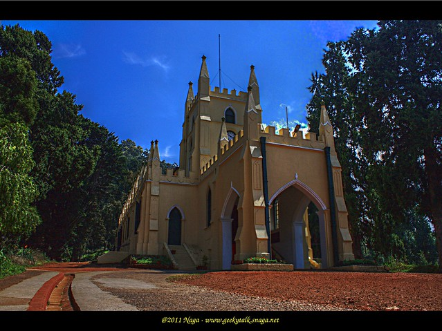 St Stephens Church, Ooty - Exterior View (HDR)