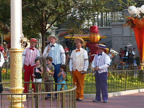 Main Street - Town Square - Flag retreat - Dapper Dans