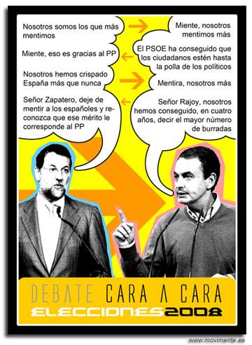 ZP vs Rajoy …debate habemus
