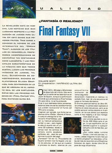 Final Fantasy VII (Ultra 64)