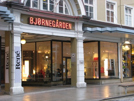 Shop in Bergen, Norway