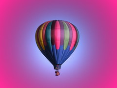 Wild Goose (Pink Pepper Photo) Tags: sky fun nikon desert nevada balloon ps highdesert coolpix hotairballoon february 2008 ballooning wildgoose nikoncoolpix8800 8800 skybluepink fullofhotair
