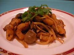 オリエンタル・キッチン ナマズの辛味炒め
