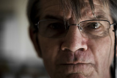 My grandfather... being himself (Seb Cooper) Tags: old family love glasses grandfather sincere