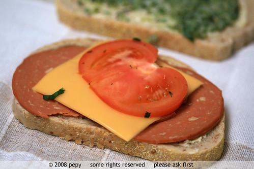 Vegetarian Sandwich 2