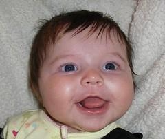 rebekah grinning