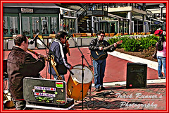 I love Music! (TrackRunner09) Tags: stairs photoshop drums phillips pipes guitars maryland microphone speakers hdr streetband restarant innerharbormaryland trackrunner09