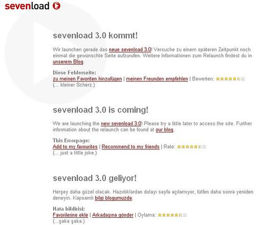 sevenload 3.0 kommt, aber wann